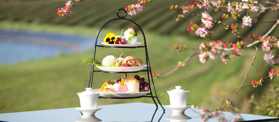 High tea at Zealong Tea Estate