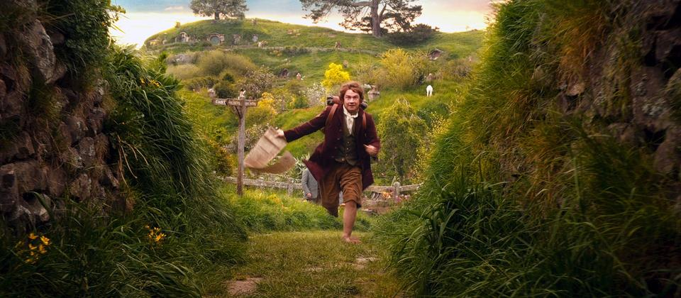 Bilbo Baggins at Hobbiton