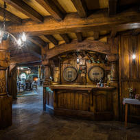 Inside the Green Dragon Inn at Hobbiton™ Movie Set