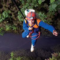 One of Waitomo's most amazing caving experiences is the journey through the Lost World.