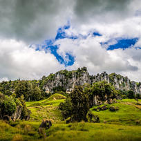 The Mangaotaki Rocks, near Piopio, were used for numerous scenes in The Hobbit.