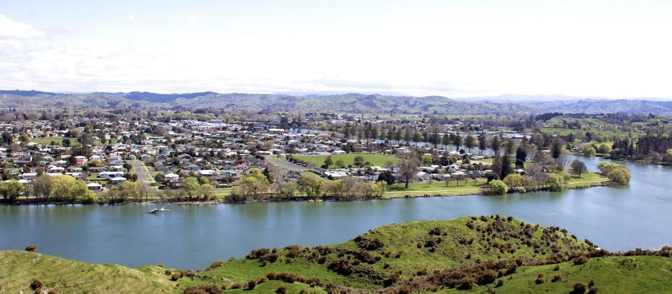 Wairoa River and town
