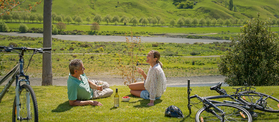 Explore local Hawke's Bay vineyards by peddle power.