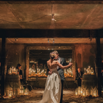 Black Barn Vineyard underground cellar wedding
