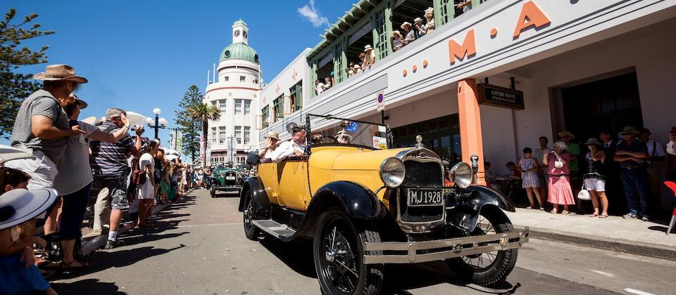 Art Deco Weekend, Napier