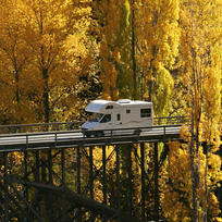 A campervan trip through central Otago in golden autumn