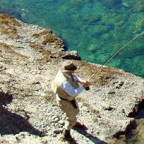 So many opportunities to fly fish on or near Lake Taupo.