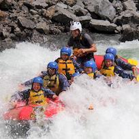 Whitewater action on the Rangitikei