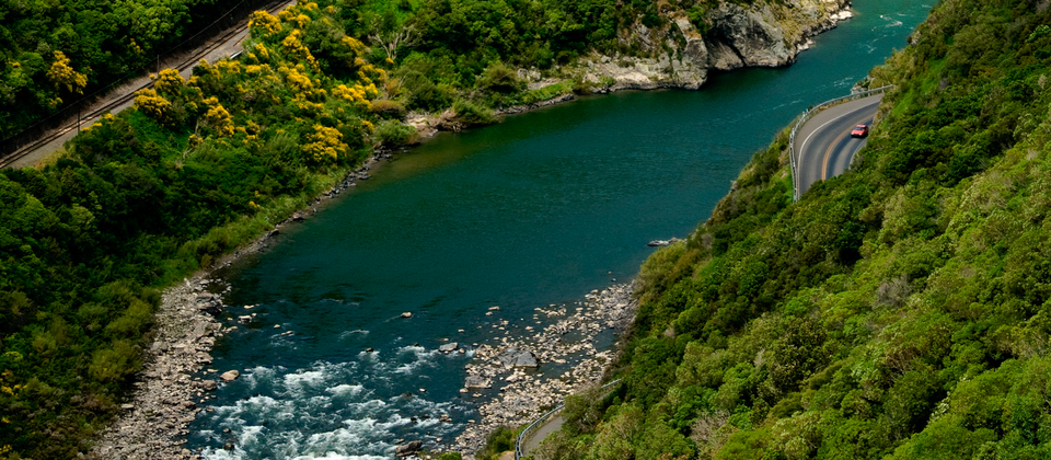 Close to the city of Palmerston North, the Manawatu Gorge offers all kinds of adventures.