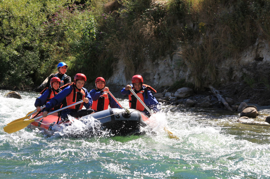 Rafting in Mangaweka