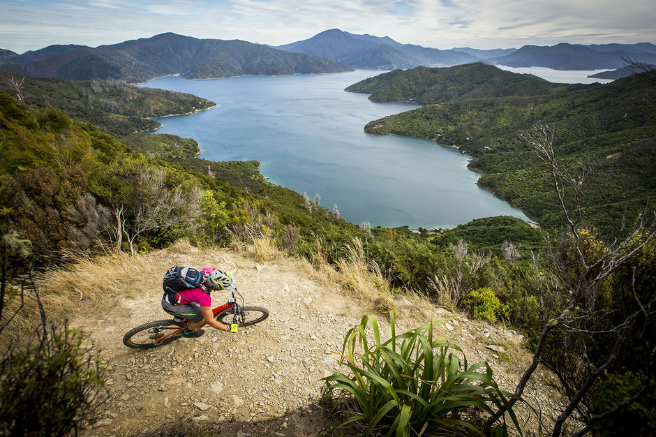 Soak in magnificent views of one of New Zealand's most beautiful waterways - Marlborough Sounds - on this epic South Island track.