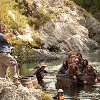 "Sir Peter Jackson on the set of ""The Hobbit: The Desolation of Smaug"""