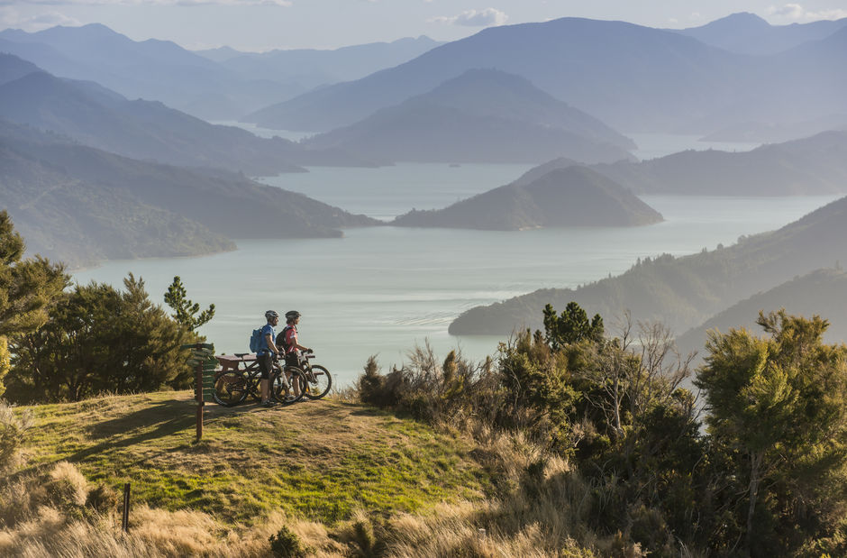 Queen Charlotte Track is located in idyllic Marlborough Sounds.  The track is open to hikers and riders.