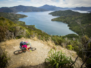 Ride pass Marlborough Sounds