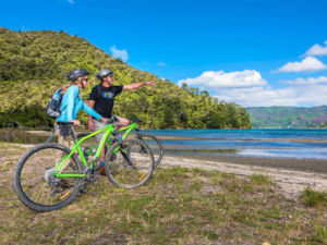Biking the Queen Charlotte Track