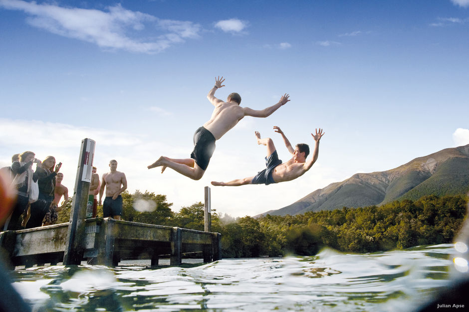 Enjoy the cool waters of Lake Rotoiti