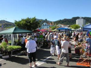 The Nelson Market is every Saturday