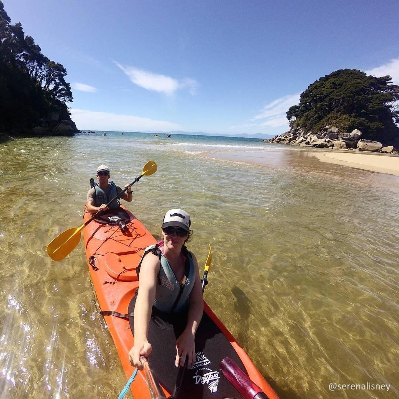 Kayaking in Nelson Tasman