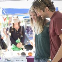 Explore the local produce and crafts at the markets.