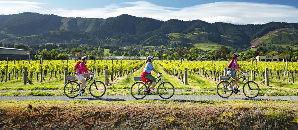 In a region known for sunshine, seafood, wine and craft beer, there's a delightful four-day cycle trail that takes it all in.
