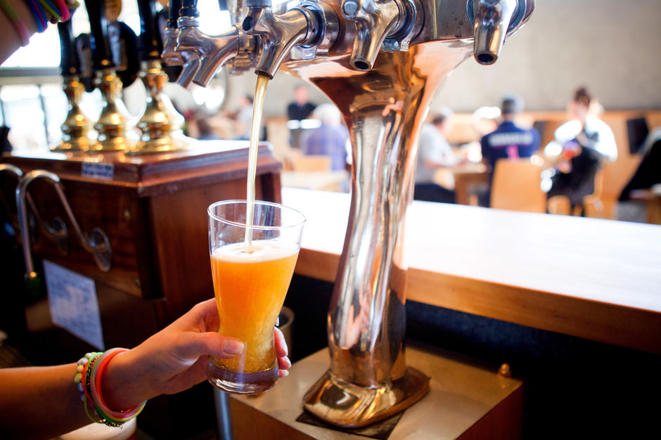 Beer on Tap at Cassels & Sons Brewery