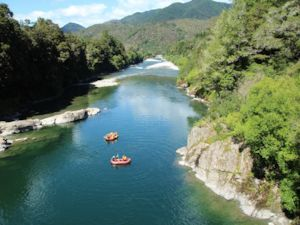 Rafting near Murchison