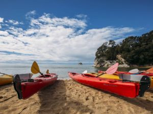 Kayaking, Kaiteriteri