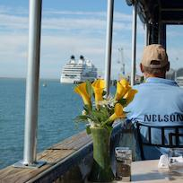 Cruise departs Nelson