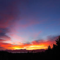 Sunrise in Mapua - New Zealand Time