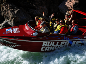 Buller Canyon jetboating