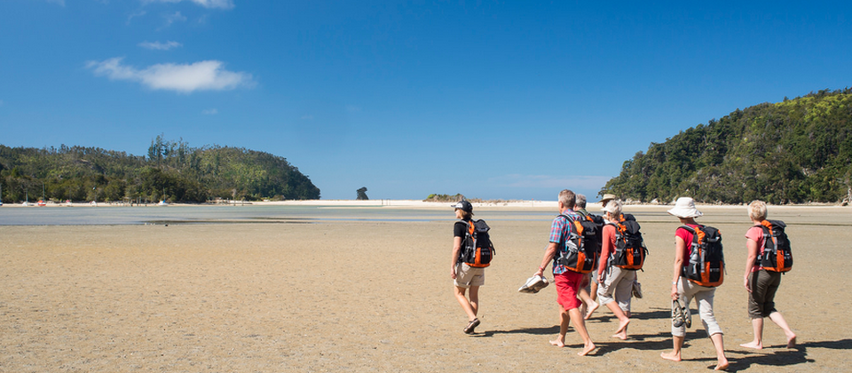 Abel Tasman National Park is one of the sunniest places in New Zealand.