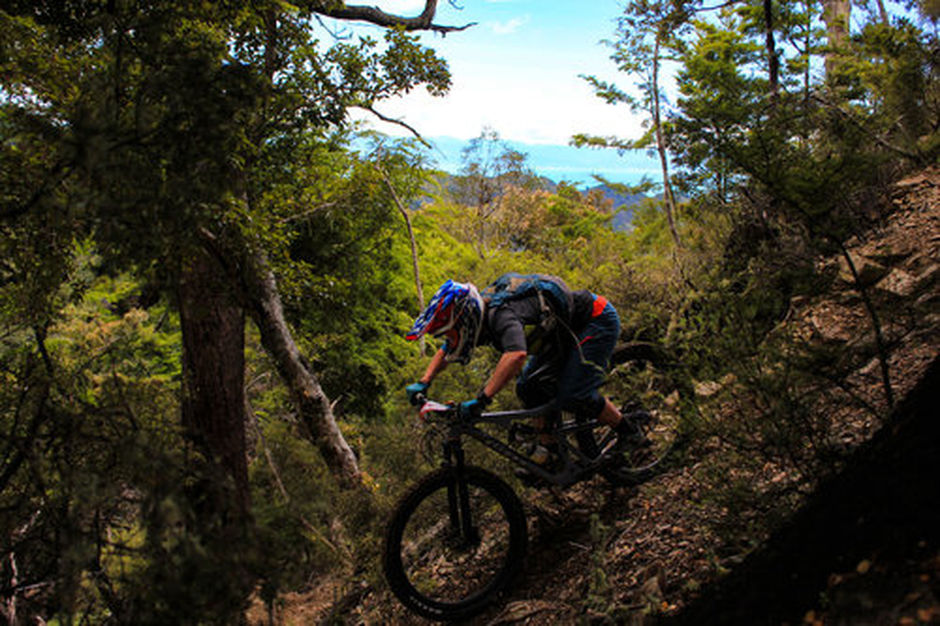 Sharlands' technically demanding trails have all been built by locals.