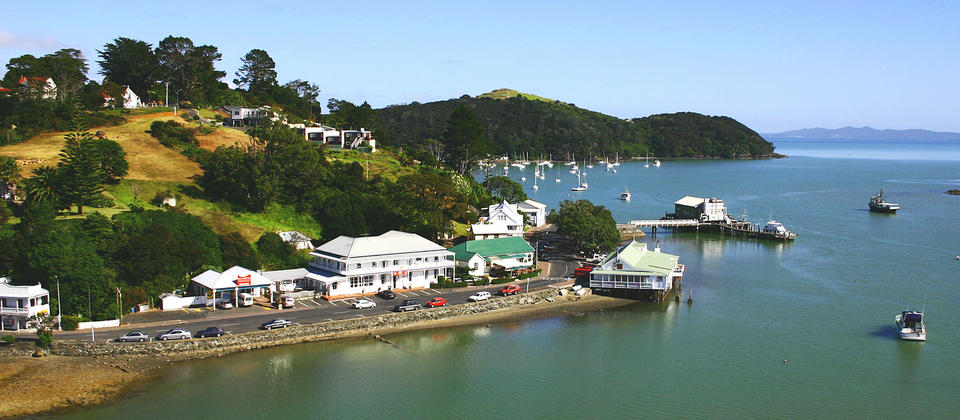 Mangonui is a charming seaside town.