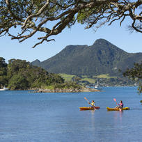 Kayaking at Whangarei Heads