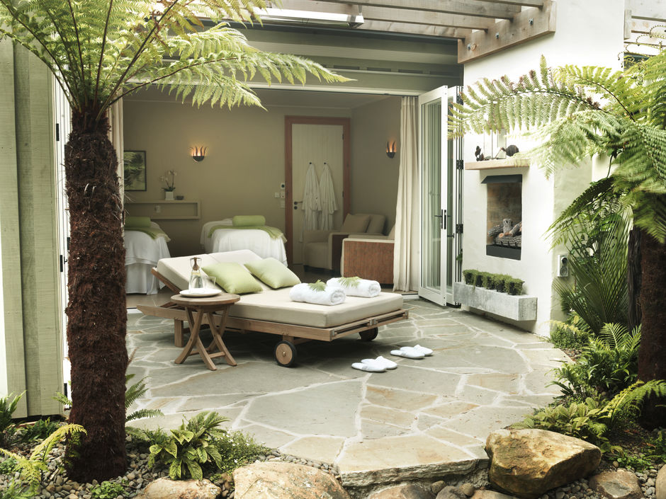 Let it all melt away at Kauri Cliffs Spa, Northland
