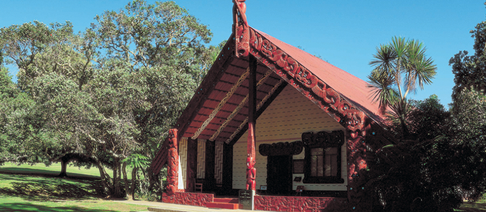 Visit the Maori meeting house at Waitangi Treaty Grounds