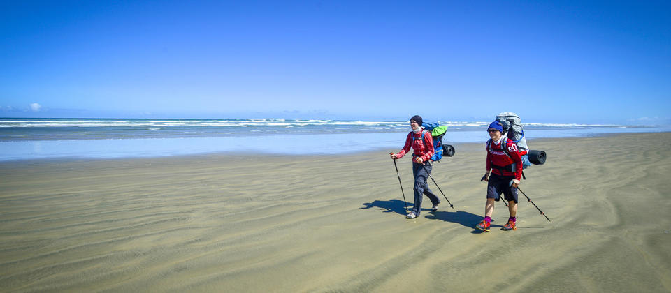 'Das Walkers' Ninety Mile Beach