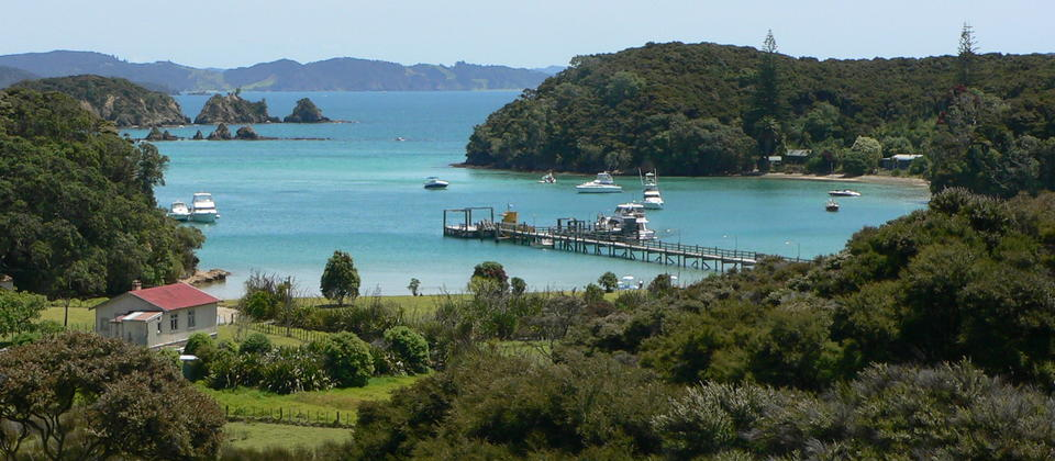 Relax on stunning Urupukapuka Island in the middle of the bay of Islands.