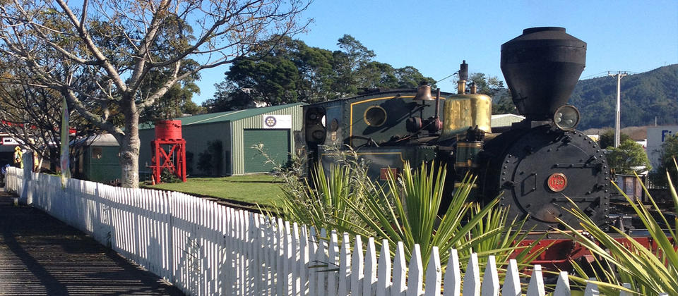 Kawakawa is the only town in New Zealand to be home to a railway track through the centre of town.
