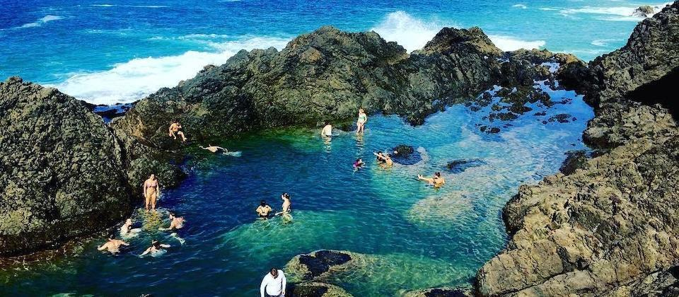 Mermaid Pools in Tutukaka