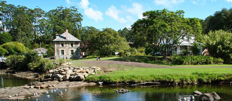 The Stone Store in Kerikeri is one place to explore the history of early European settlers in New Zealand.