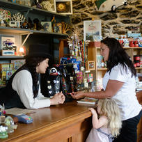Operating as a general store since the 1870's, the Stone Store offers an authentic range of trade goods and quirky kiwi merchandise.