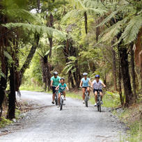 The Twin Coast Cycle Trail is perfect for the whole family.
