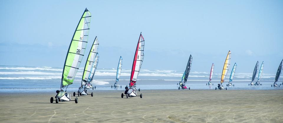 Blo-karts at Ninety Mile Beach