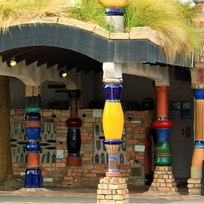 The quirky Hundertwasser toilets in Kawakawa are worth a stop.