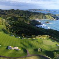 The majestic Kauri Cliffs is located in Matauri Bai, Northland.