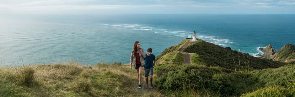 Witness the meeting of two oceans at the northern most point of New Zealand.