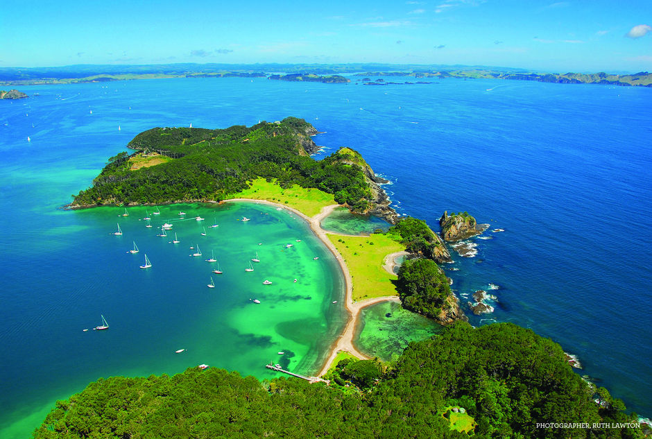 The Bay of Islands is New Zealand's premier cruising ground. You can explore a different island every day.