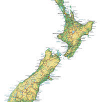 Show Me A Map Of New Zealand.New Zealand Map Map Of New Zealand Tourism Nz