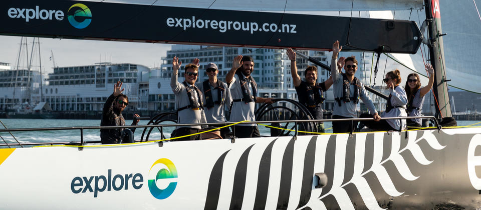 America's Cup Sailing Crew